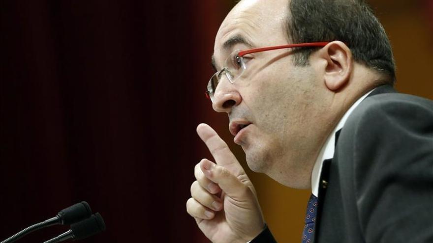 Iceta cree que Mas no puede quejarse del Gobierno tras su declaración de ruptura