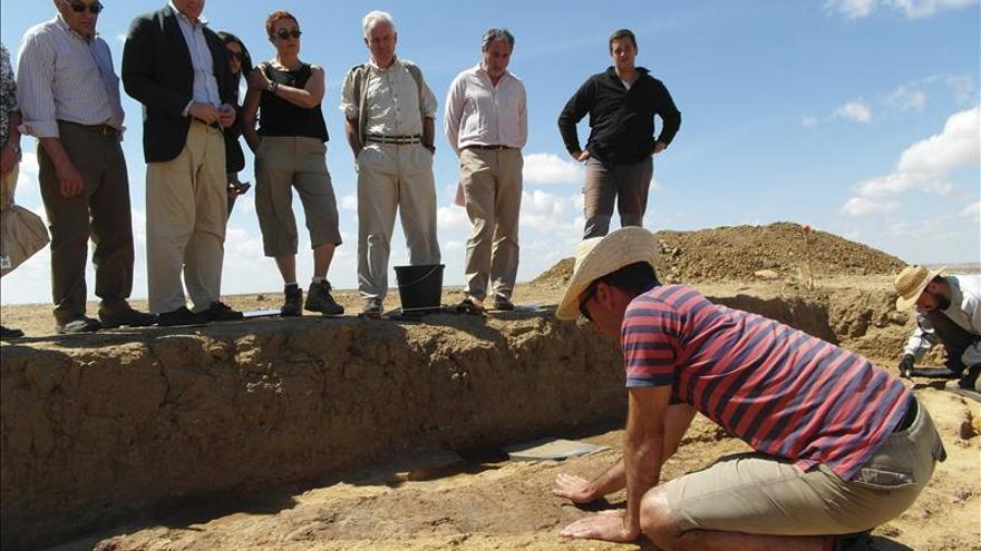 Los sondeos constatan la importancia del yacimiento prehistórico de Dessobriga