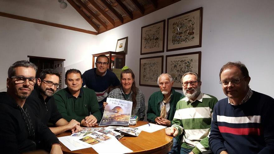 Miembros de la Sociedad de Micología de La Palma.
