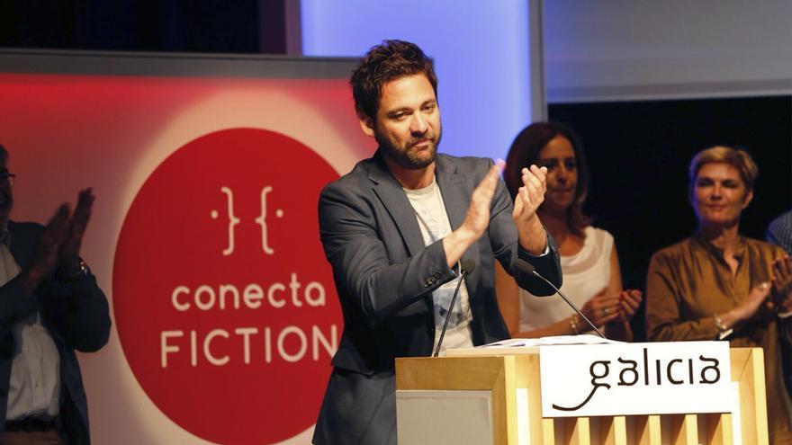 "Daniel Corpas recoge el premio por ""Malaka"""
