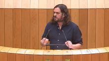 El diputado de Grupo Común da Esquerda Antón Sánchez