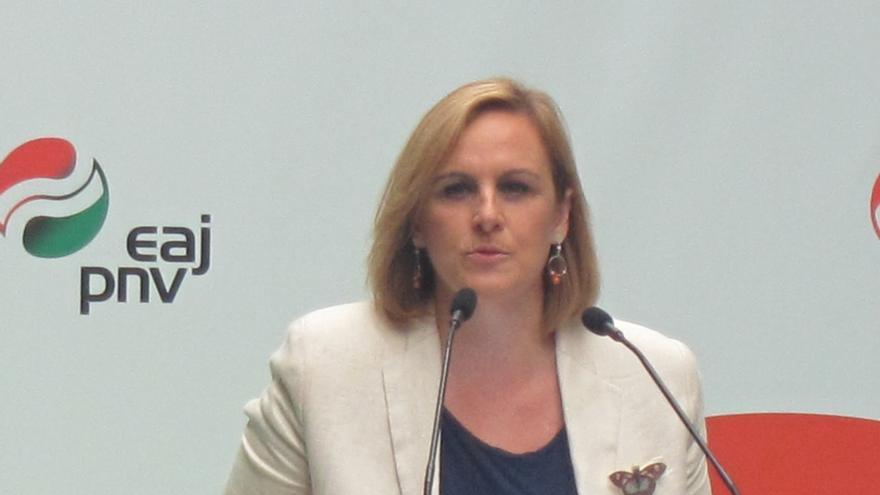 """PNV acusa a EH Bildu de estar """"a lo de siempre"""" y le dice que """"la nación vasca"""" se construye """"con hechos, no palabras"""""""