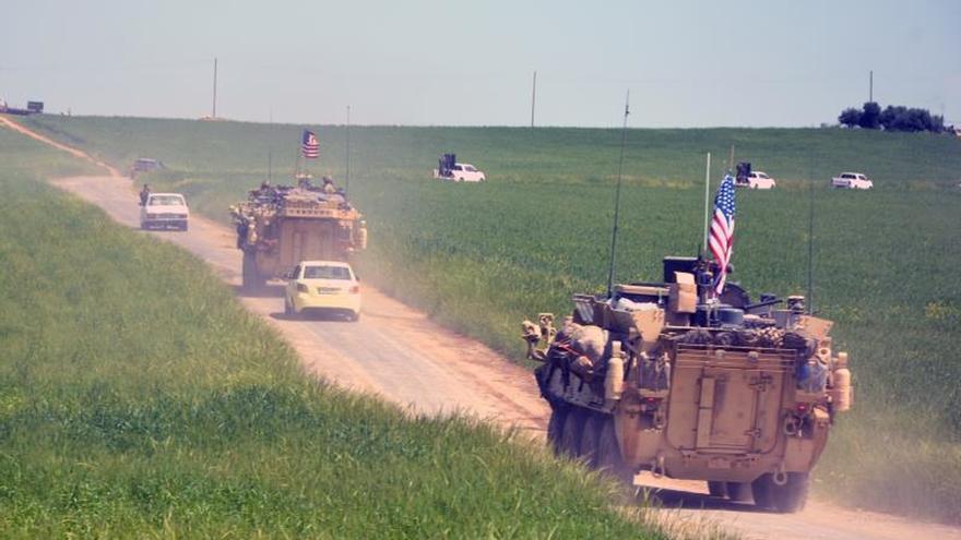 Comienza la retirada de las tropas americanas de Siria, según una ONG
