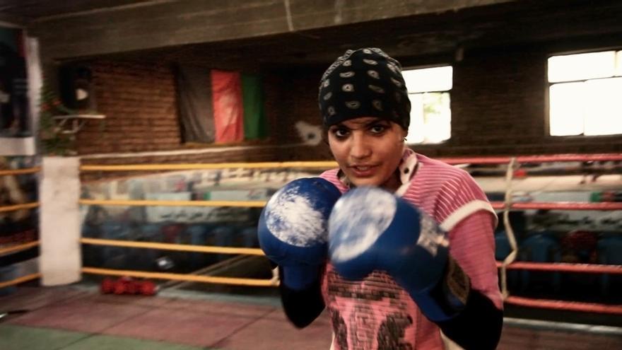 El documental 'Boxing for Freedom' se centra en la vida de Sadaf Rahimi.
