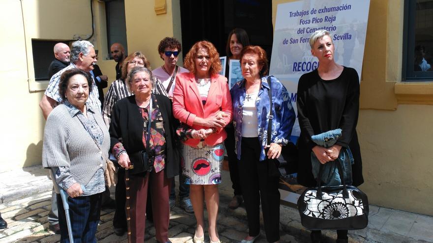 Comienza la extracción de ADN a los familiares de los asesinados de la fosa común de Pico Reja