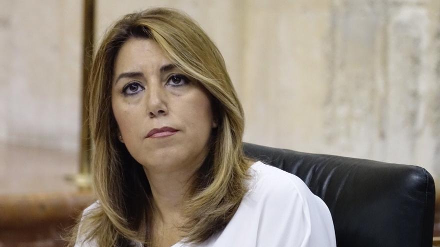 """Susana Díaz acusa a Moreno de """"desprestigiar"""" la educación pública para que algunos """"hagan negocio"""" con ella"""