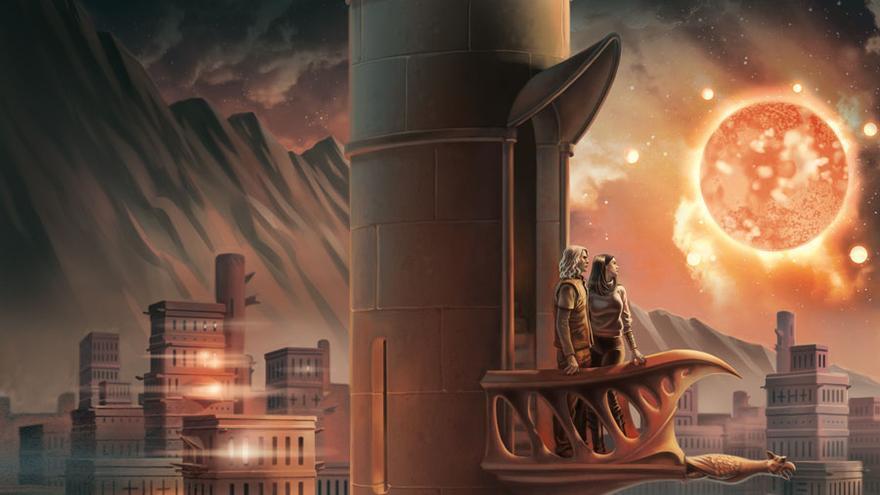 """Ilustración de portada de """"Muerte de la luz"""" Gigamesh.jpg"""