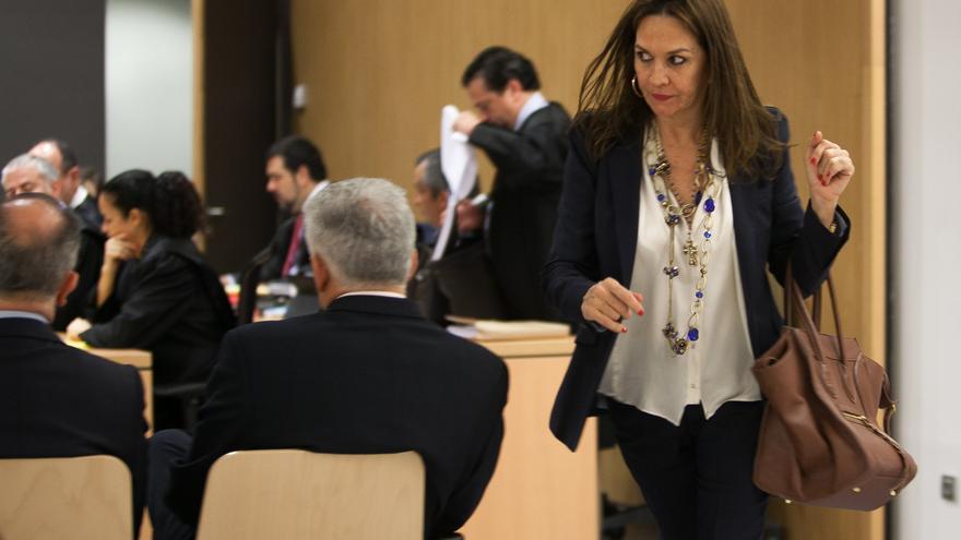 Mari Carmen Benítez, esposa de José Manuel Soria.