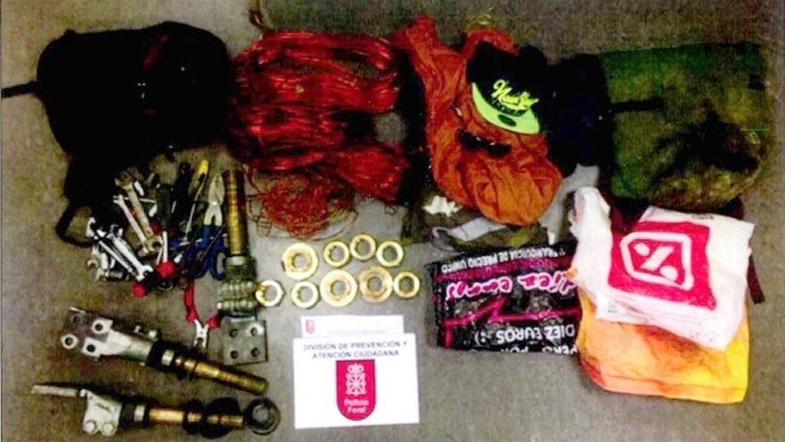 La Policía Foral detiene a tres personas por un delito de robo en una empresa de Noáin