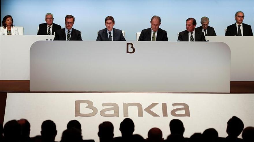 El Estado venderá este año hasta un 9 % de Bankia y en 2018 un paquete mayor