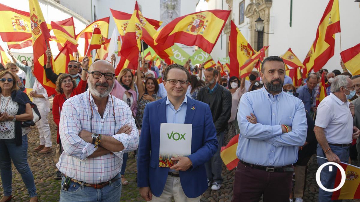 Acto de VOX por el 12 de octubre, Fiesta Nacional en España