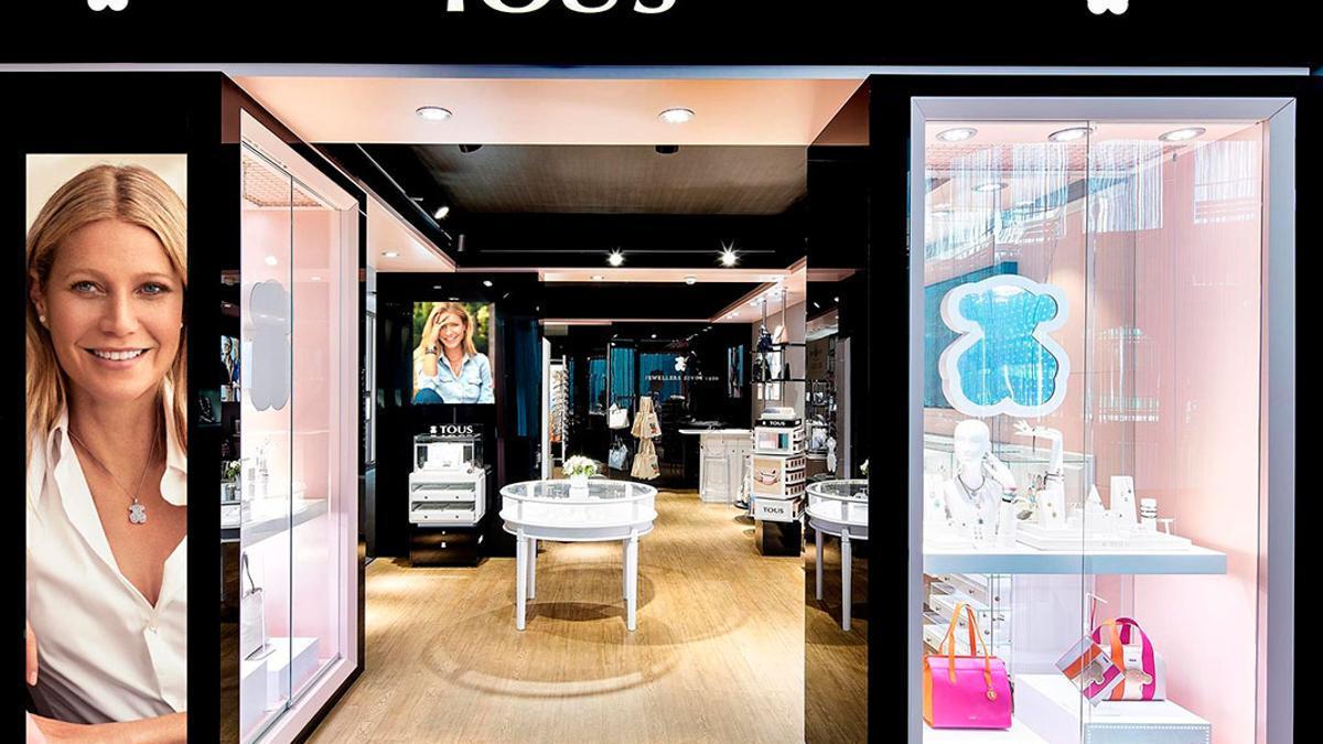 Imagen promocional de una tienda de Tous.