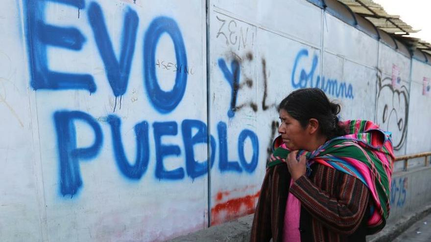 """Evo Morales advierte en su campaña del """"desastre"""" de la política en Argentina"""