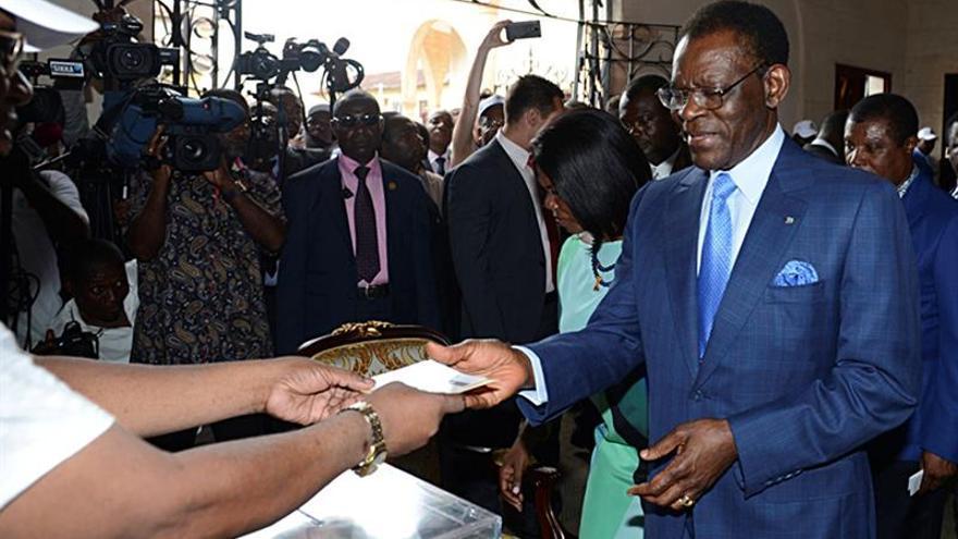 Teodoro Obiang ha obtenido más de 98 por ciento de los votos