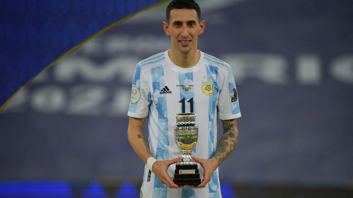 Di María tuvo su revancha y se consagró con la Selección Argentina