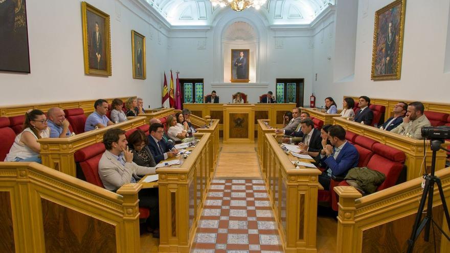 Pleno del Ayuntamiento de Toledo / Fotografía: Antonio Seguido
