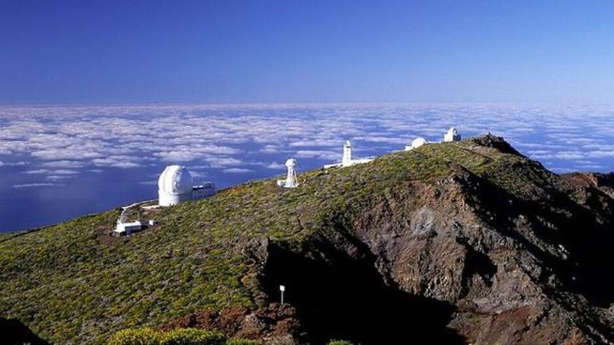 En la imagen, complejo astrofísico del Roque de Los Muchachos.