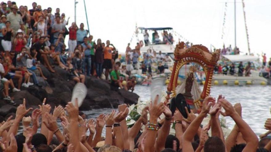 Fiestas de La Virgen de Guadalupe en La Gomera