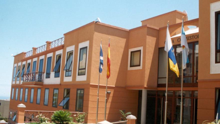 Ayuntamiento de Los Realejos, donde gobierna el PP con mayoría absoluta