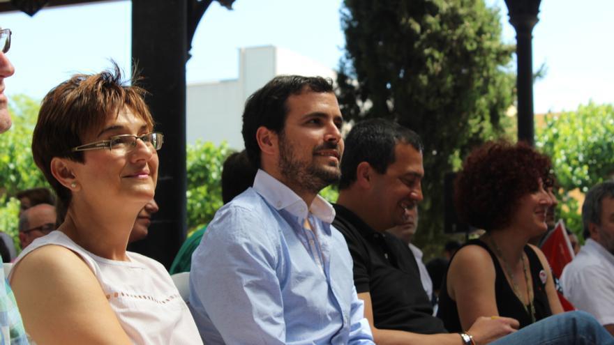 Herguedas, Garzón, Pujante y Marín en el acto de Ganar la Región de Murcia / PSS