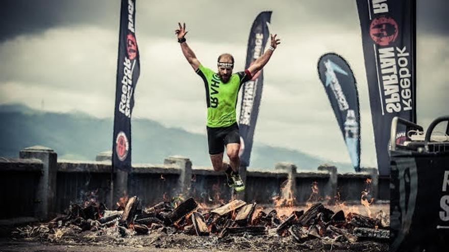 Alrededor de 4.000 corredores participan en la Reebok Spartan Race celebrada en Bilbao