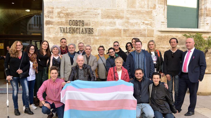 Colectivos trans y activistas a la espera de la aprobación de la ley de Identidad de Género