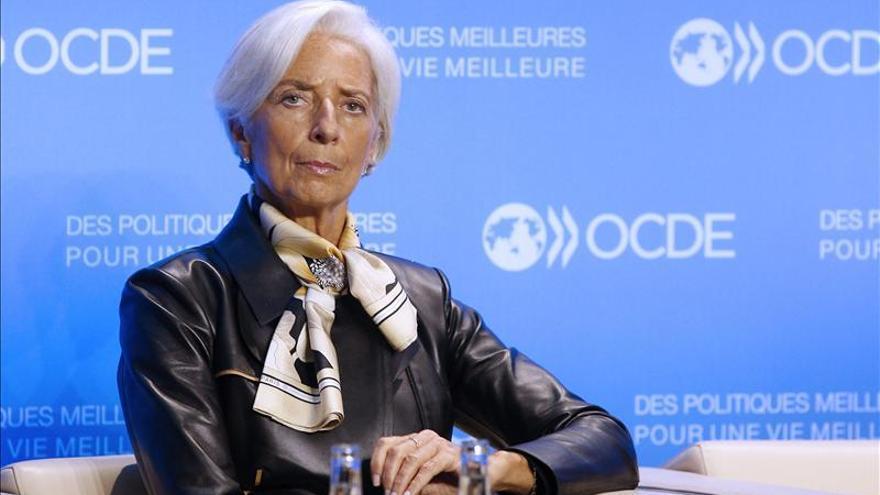 Lagarde considera que la crisis financiera tuvo en su origen un exceso de testosterona