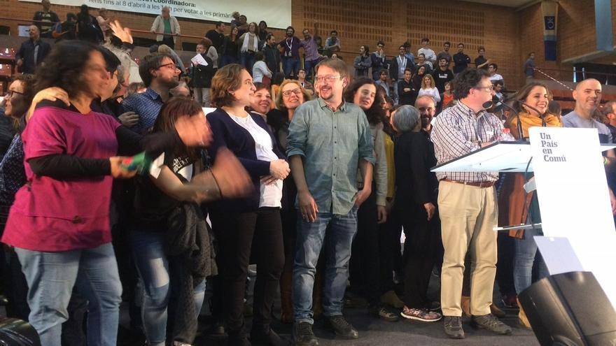 Xavier Domènech (EnComúPodem) asegura que la ausencia de Podem no limitará a los 'comuns' y espera que se unan