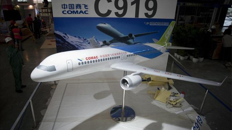 """El primer vuelo del C919, el """"jumbo"""" chino, podría retrasarse hasta 2017"""