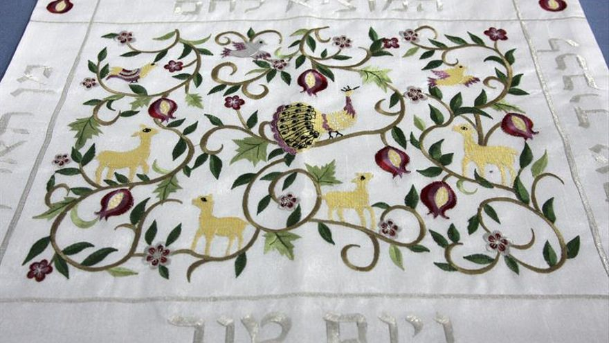 Donan al Museo Judaico de Belmonte paños sagrados de entre uno y dos siglos