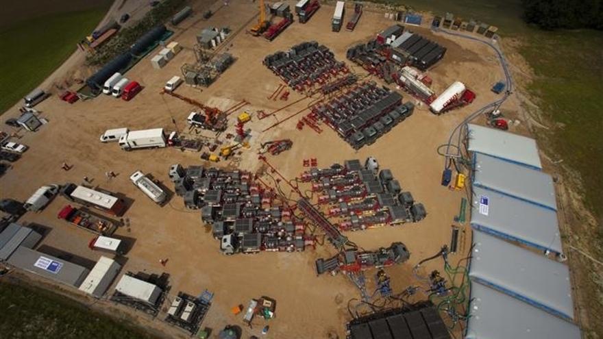 Factoría de 'fracking' en Lewino (Polonia) / S.Leon Energy
