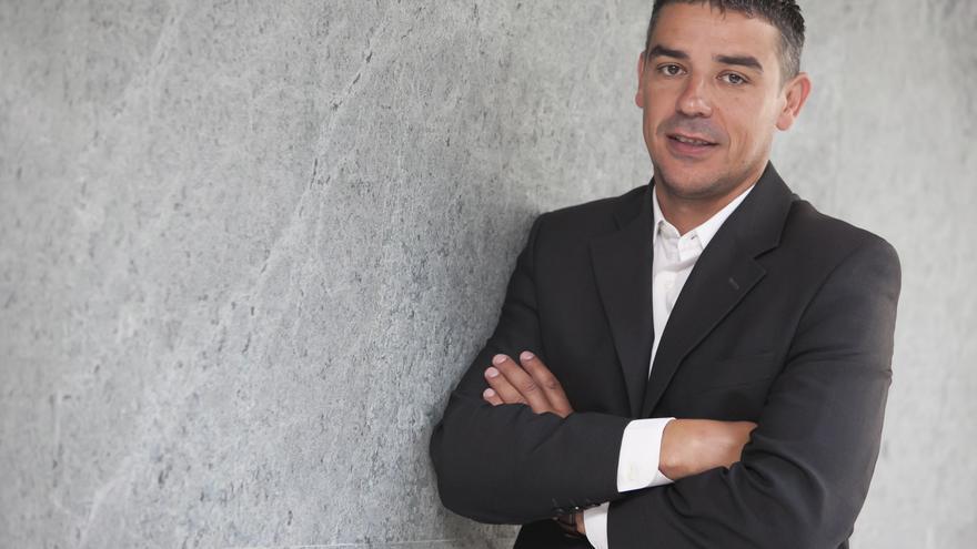 Quintero, político herreño de la formación AHI-CC