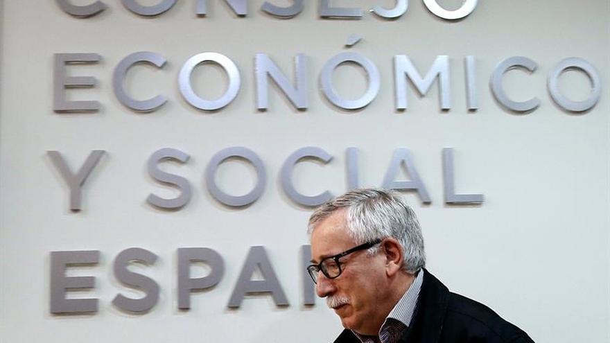 Fernández Toxo reivindica que los salarios ganen poder adquisitivo en 2017
