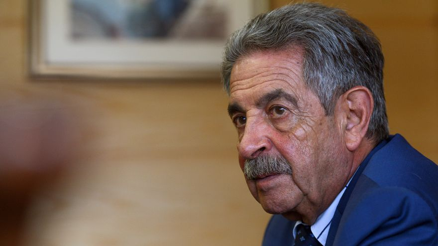 El presidente cántabro, Miguel Ángel Revilla.