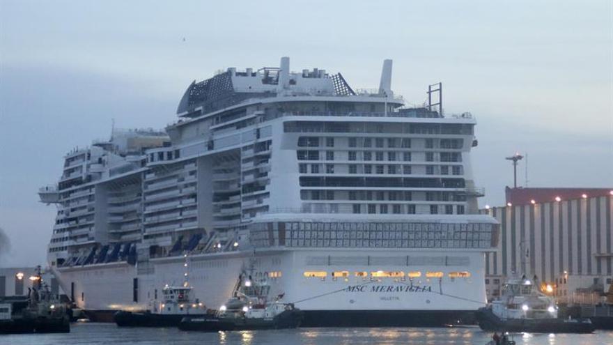 MSC invierte 9.000 millones de euros en sus nuevos barcos hasta 2026