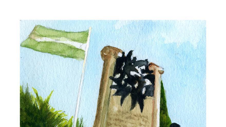 Monumento a Blas Infante. | CANDELARIO G. FLORES