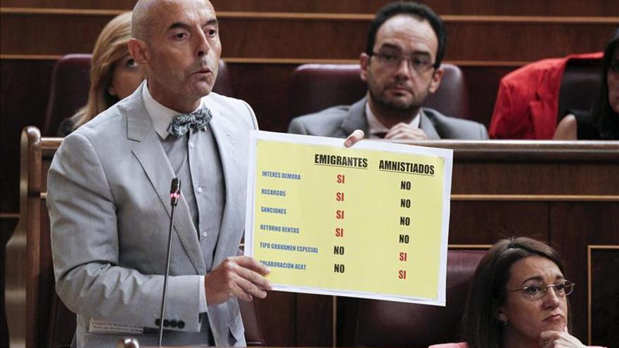 UPyD, igual que el PSOE, plantea que el ICO compense a los afectados de Fórum