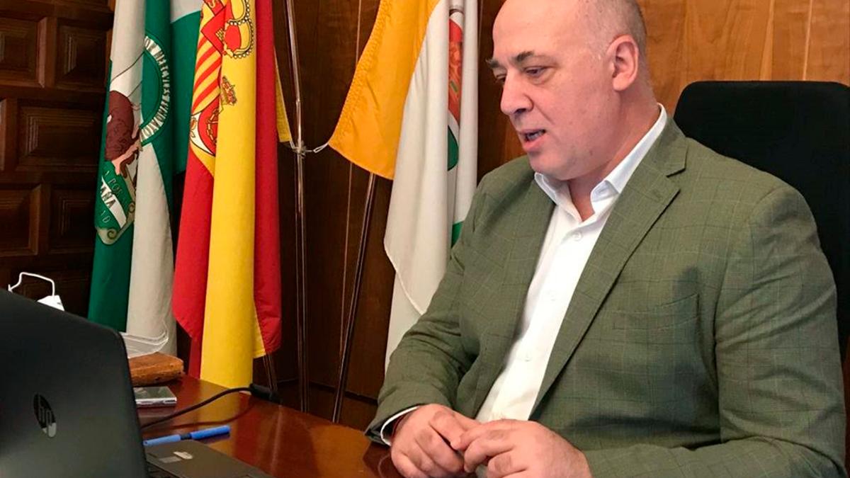 El presidente de la Diputación Provincial, Antonio Ruiz.
