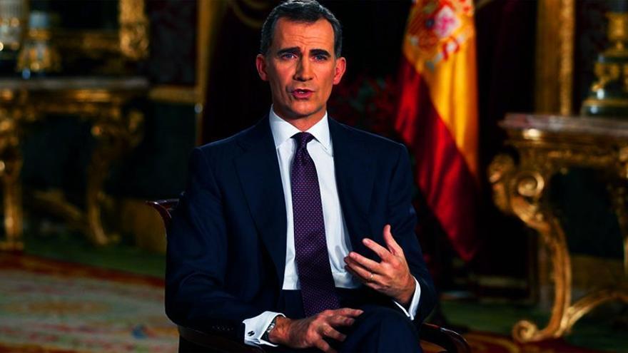 Críticas, memes y ¿guiño a Podemos? del mensaje del rey Felipe VI