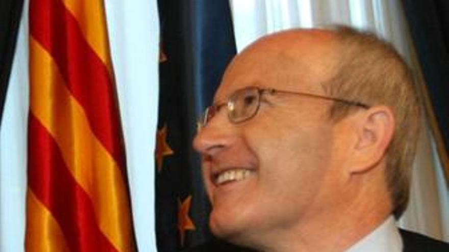 El presidente de la Generalitat, José Montilla