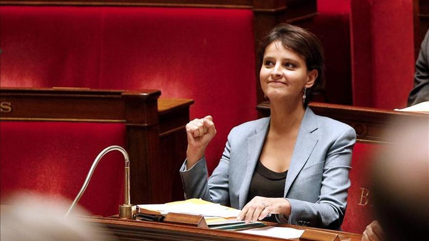 """La portavoz del Gobierno galo dice que la reforma del aborto en España es """"un retroceso"""""""