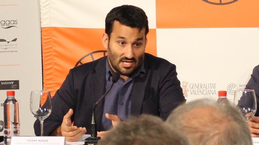 Vicent Marzà, conseller de Educación