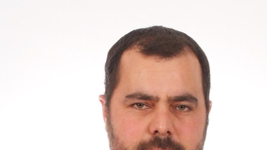 Jesús Besay Rodríguez, candidato de IUC a la Presidencia del Cabildo de La Palma.
