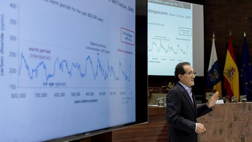 El profesor de la Universidad de Las Palmas de Gran Canaria Javier Arístegui.