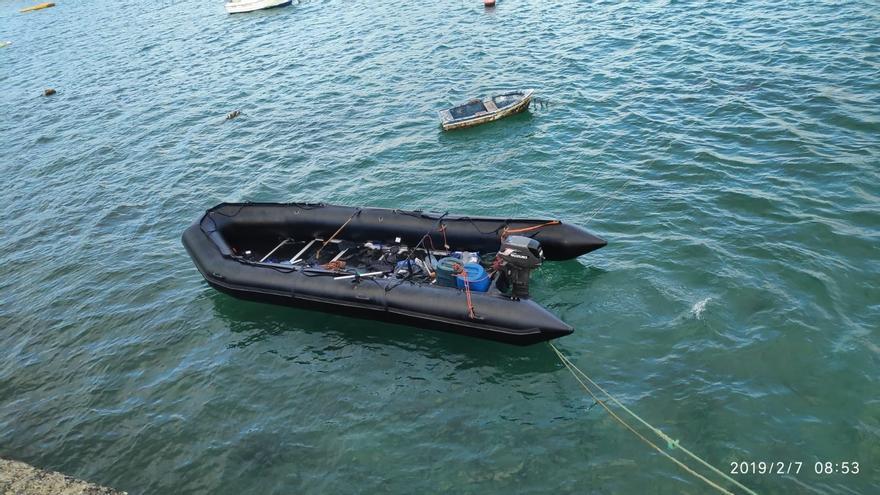 Llega una patera a Lanzarote con cinco migrantes a bordo