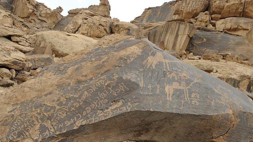 La vida de los antiguos árabes grabada en el árido desierto saudí de Hail