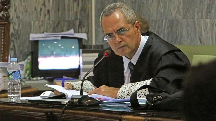 El fiscal Anticorrupción de Las Palmas, Luis del Río. (ALEJANDRO RAMOS)