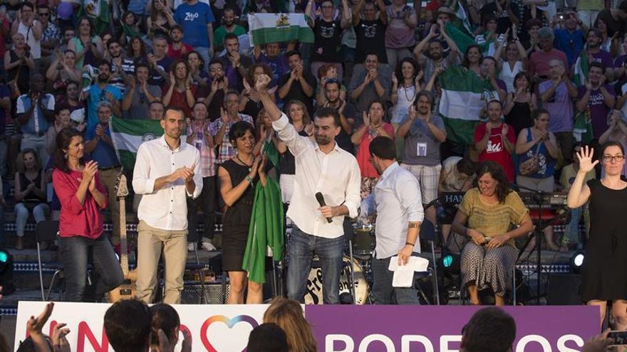 """Unidos Podemos llama a los votantes del PSOE para llenar las urnas de """"bofetadas a Rajoy"""""""