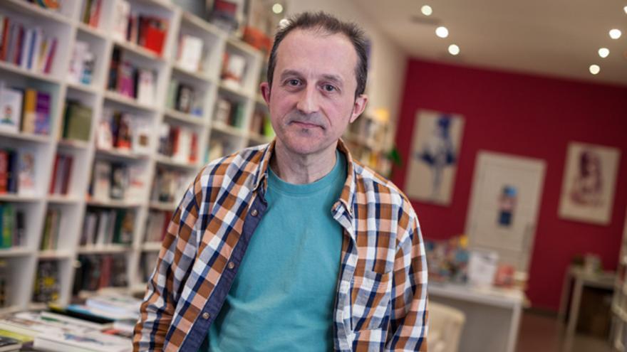 Jesús Paz, del Colectivo Antimilitarista Mambrú