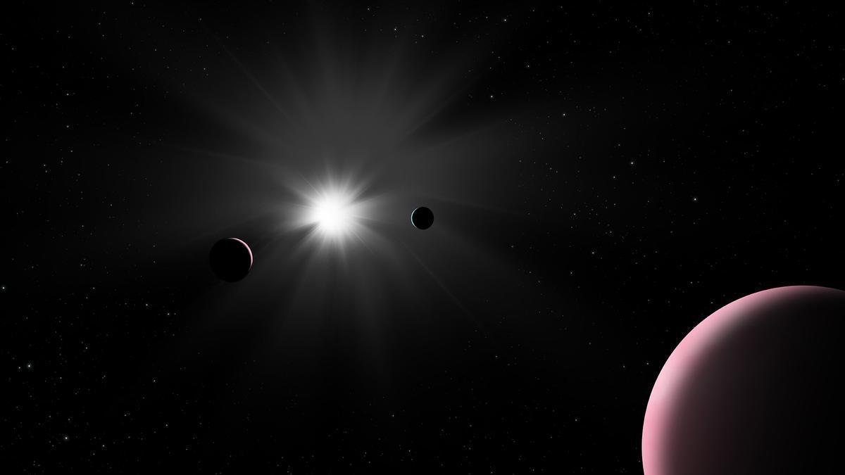 """Dado que los exoplanetas de largo período orbitan tan lejos de sus estrellas, las posibilidades de ver uno durante un tránsito son increíblemente bajas, lo que hace que el hallazgo de Cheops sea una """"verdadera sorpresa"""""""